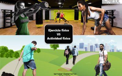 EJERCICIO FÍSICO Y ACTIVIDAD FÍSICA: AÚN SE SIGUE PENSANDO QUE SON LO MISMO