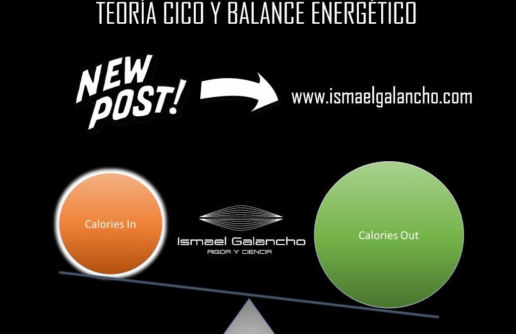 TEORÍA «CICO» Y BALANCE ENERGÉTICO