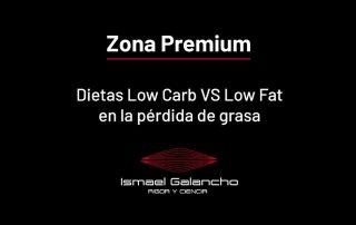 Dietas low carb vs low fat en la pérdida de grasa