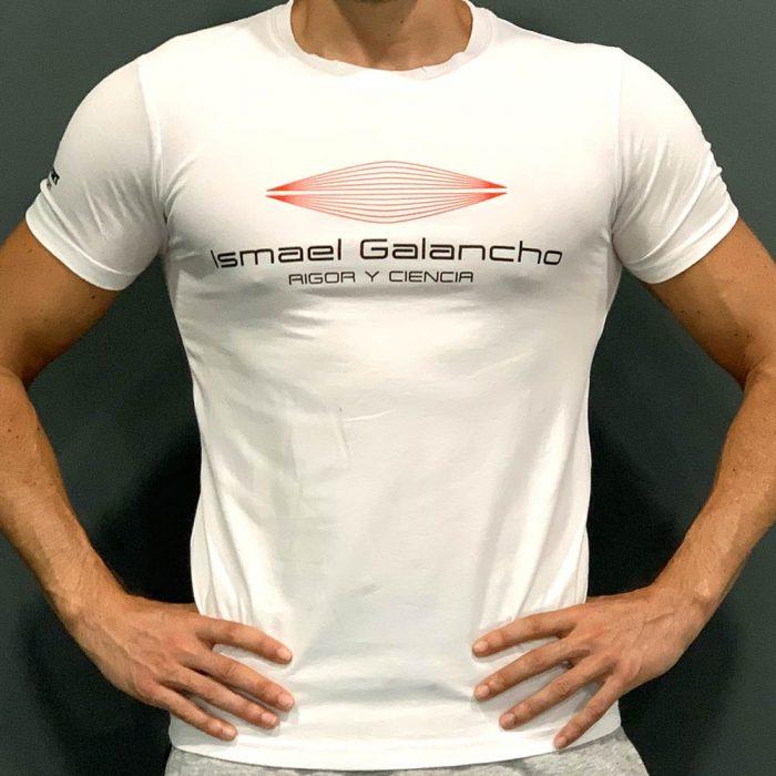 Camiseta hombre blanca Ismael Galancho