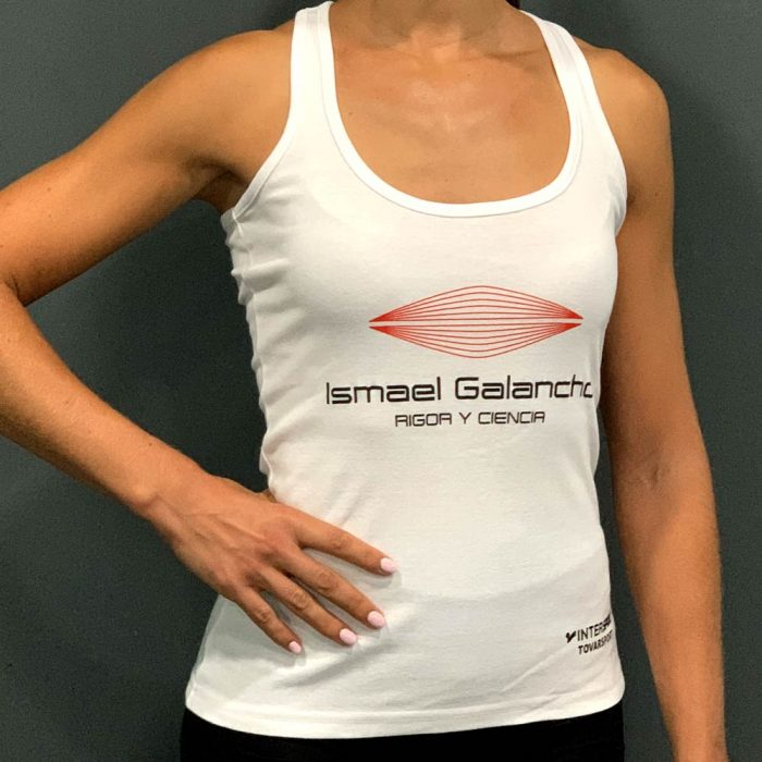 Camiseta mujer blanca Ismael Galancho