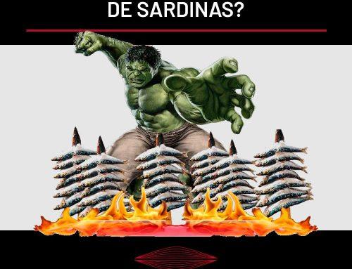 ¿COMÍA HULK ESPETOS DE SARDINAS?