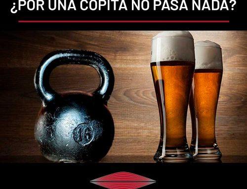 ALCOHOL Y MASA MUSCULAR: ¿POR UNA COPITA NO PASA NADA?