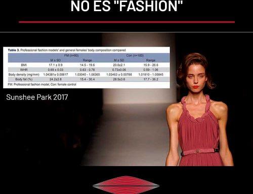 """EL MÚSCULO NO ES """"FASHION"""""""