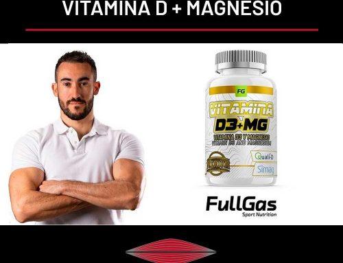 NUEVO SUPLEMENTO CON FULLGAS: VITAMINA D + MAGNESIO